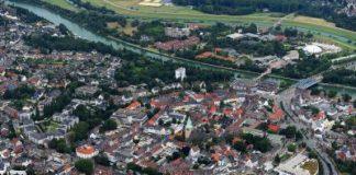 Dorstener Altstadt aus der Luft