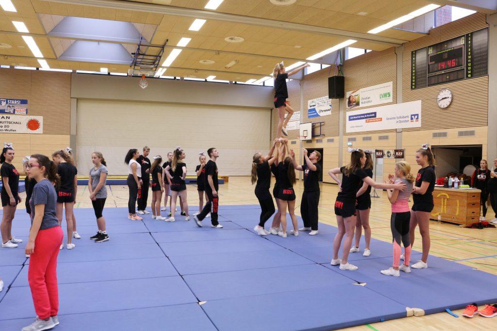 Cheerleader des BSV Wulfen