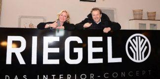 Die Geschäftsinhaber Nicola und Marc Riegel
