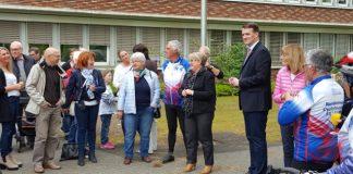 Empfang Gäste aus Ernee in Dorsten von Bürgermeister Stockhoff