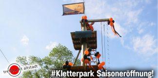Kletterpark Dorsten Altstadt wird eröffnet