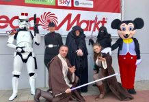 Star Wars im Media Mark