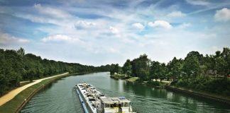 Der Kanal in Dorsten