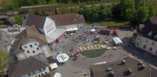 Strassenfest Hervest Luftaufnahme