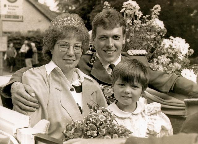 25 Jahre Peter Abel Schützenkönig Holsterhausen Dorf