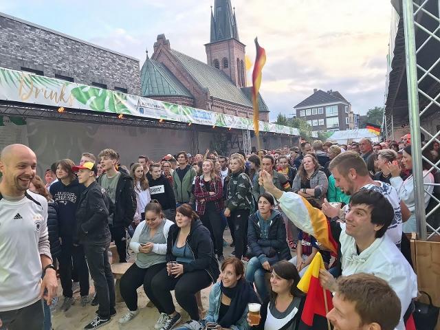 Public-Viewing Dorsten Stadtstrand