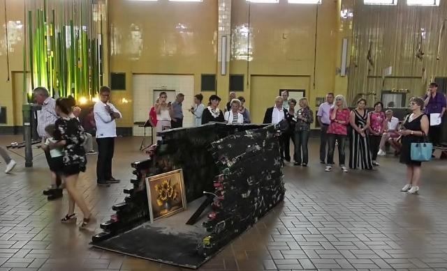 Künstlergruppe Breitengrad Vernissage Dorsten