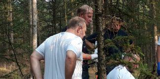 Mountainbikerin in Dorsten im Wald gestürzt