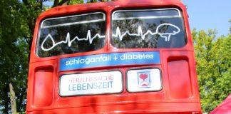 Schlaganfallbus in Dorsten am Krankenhaus