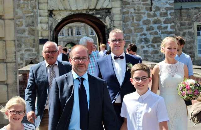 Herr Lembeck heiratet auf Schloss Lembeck