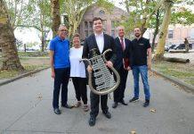 Oliver Jahnich und Fanfarencoprs Hervest
