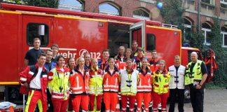 Rettungsübungen Schüler Kreis Recklinghausen Feuerwehr