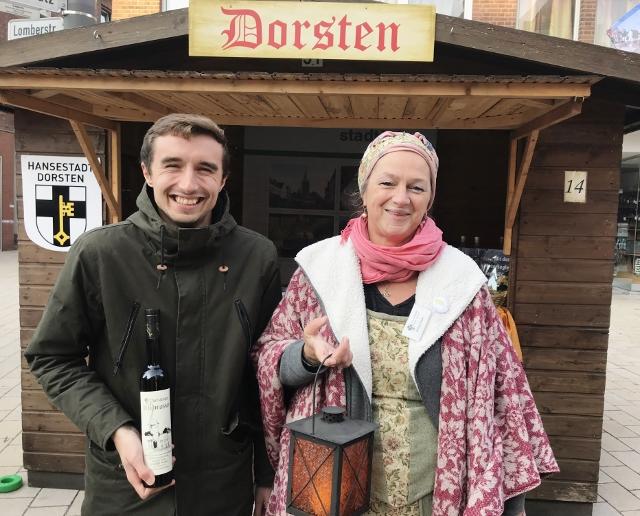 Stadt Info Dorsten und Barbara Seppi in Wesel