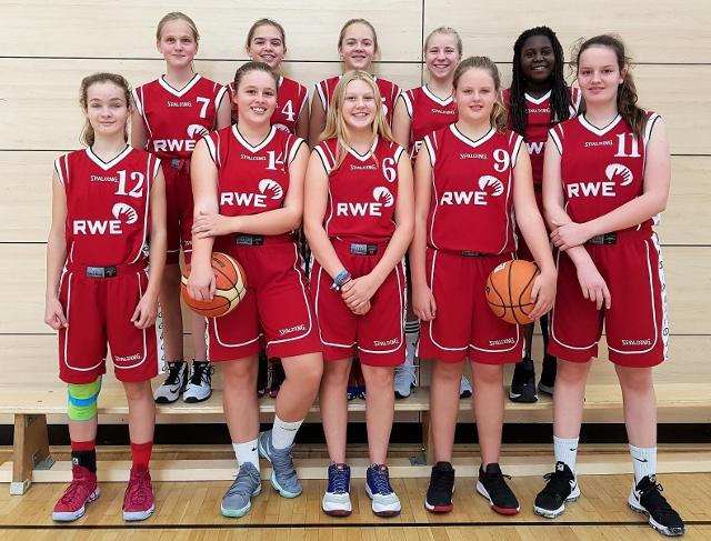 Team Basketball Gesamtschule Wulfen