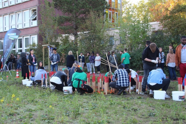 Klima-Aktionstag am Paul-Spiegel-Berufskolleg in Dorsten