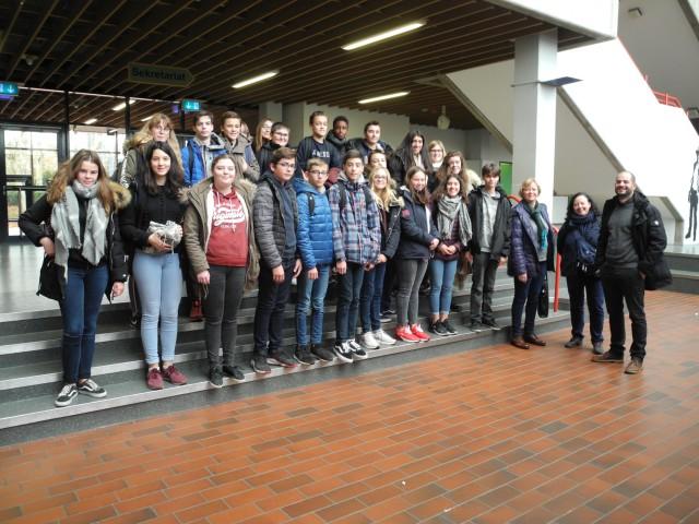Schüler aus Dormans zu Gast in Wulfen