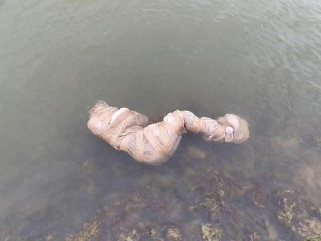Feuerwehr fand angeblich tote im Kanal