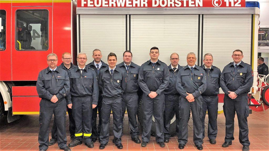 Generalversammlung Löschzug Rhade2019