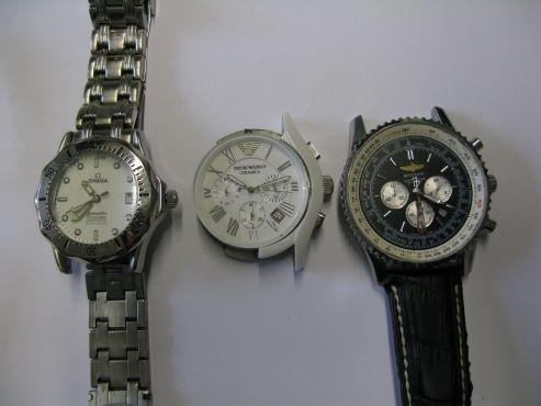 Wem gehören diese Uhren?