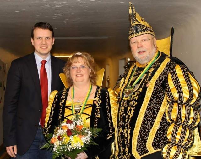 Dorstener Prinzenpaar 2014 Heike und Bodo Kammann