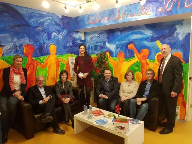 Besuch in der Lebenshilfe Dorsten von Michael Hübner SPD