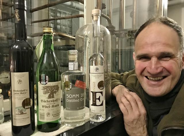 Korn und Gin von Dirk Böckenhoff Brennerei Dorsten und Erle