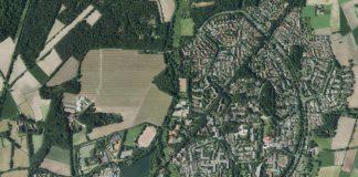 Barkenberg Dorsten-Luftaufnahme