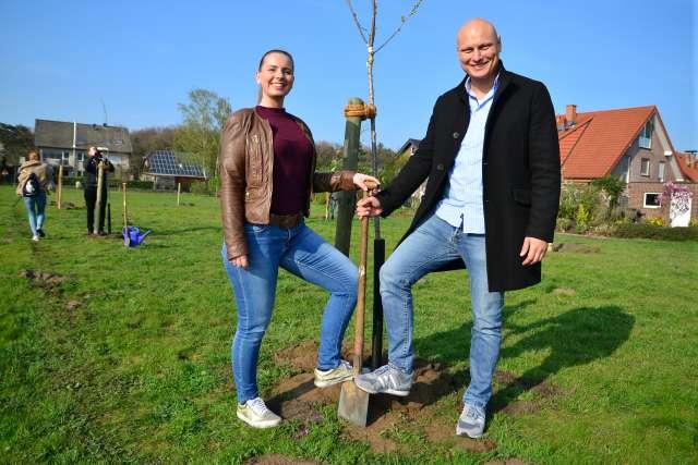 Neuer Hochzeitswald in Dorsten Rhade