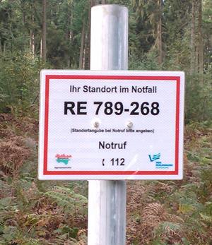 Rettungspunkte im kreis Recklinghausen