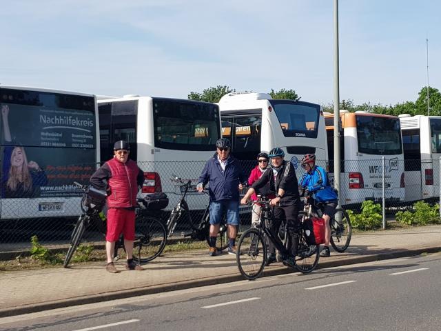 4. Tag der Bürgermeister Radtour