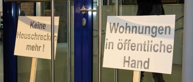 Bürgergespräche gegen Verkauf LEG Dorsten (