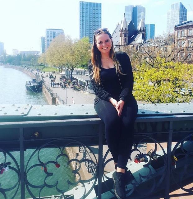 Charlotte Naujoks aus Dorsten ist stolz ein Teil von Europa zu sein