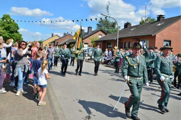 Schützenparade Samstag Schützenverein St. Marien Dorsten 2019