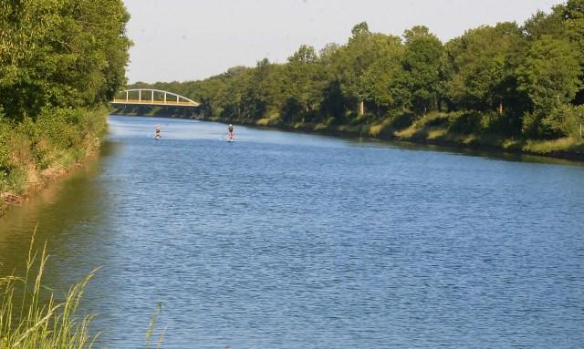 Kanal Schermbeck Dorsten Schwimmen