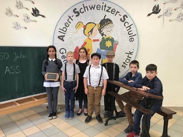 chuljubiläum Albert-Schweitzer Schule Dorsten Hervest