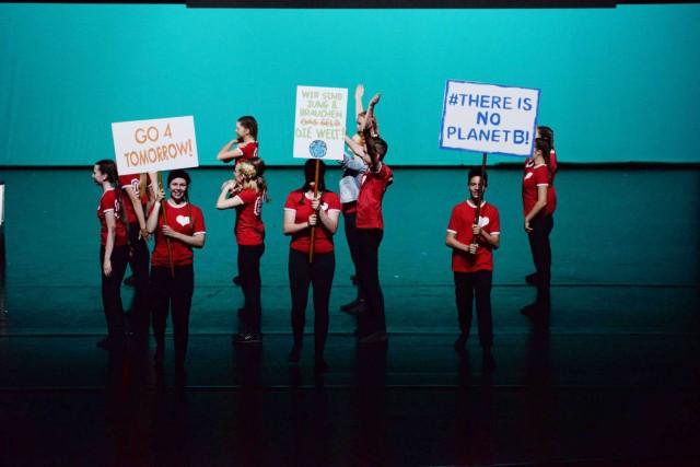 Tanzprojekt Move der Gesamtschule Wulfen. Foto: GSW