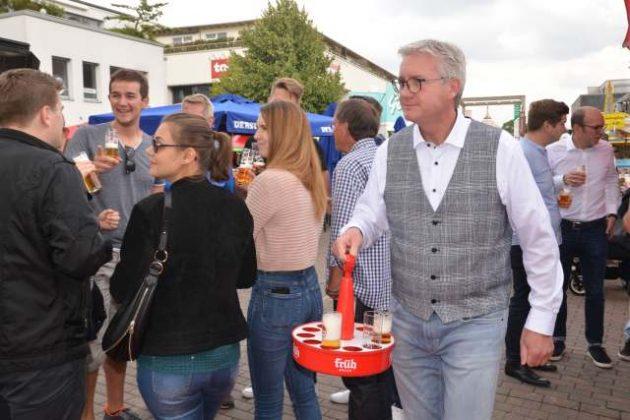 Fassanstich Bierbörse Dorsten 2019 (