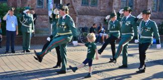 Vorparade Schützenfest Altstadt Dorsten 2019