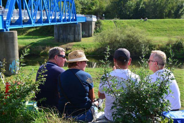 Brückenfest hervest Brücke eröffnet