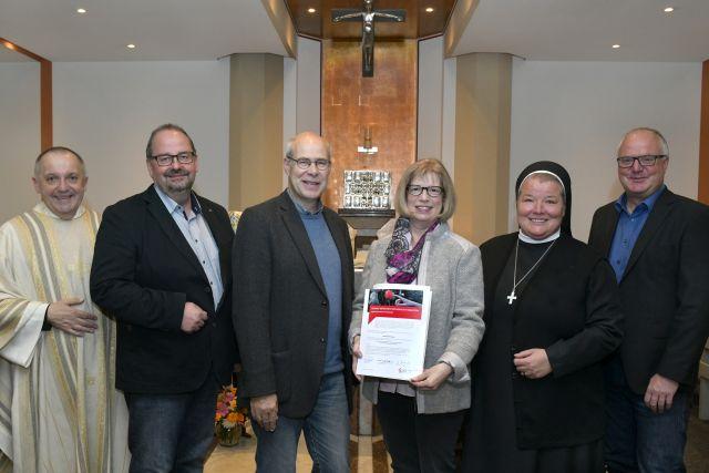 St. Elisabeth-Krankenhaus begrüßt neue ehrenamtliche seelsorgl.