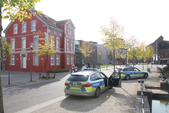 Polizeiüberwachung jüdisches Museum Dorsten