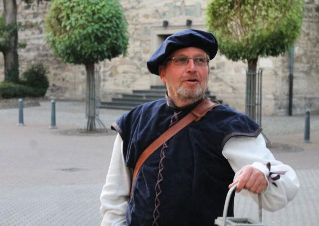Nachtwächter Rolf Steinwede. Foto: Stadt Dorsten