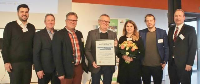 Auszeichnung Bürgerpark Dorsten
