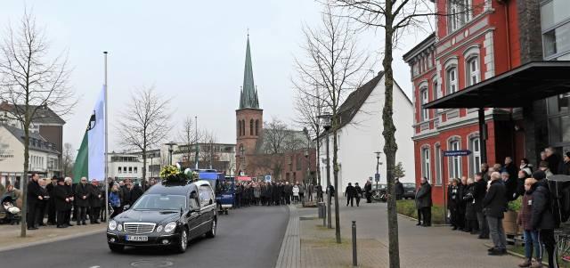 Beerdigung Trauerakt Schwester Johanna Eichmann