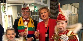 Altweiber Rathaus Dorsten Prinzenpaar