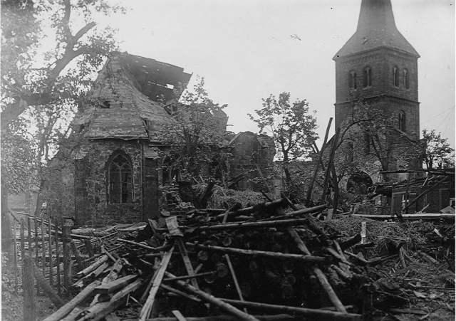 Bombardierung Wulfen 1945