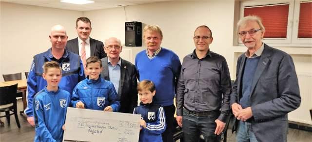 CDU überreicht Bürgerspenden an BW Wulfen