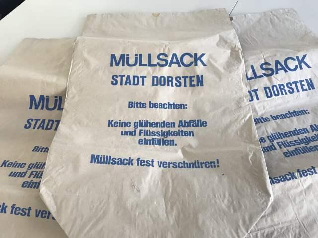 Müllsack städtisch Original
