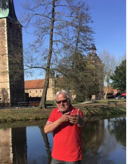 Lambert Lütkenhorst Gedichte am Schloss Raesfeld
