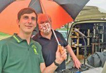 corona DJ Peter Suttrop bei der AWO betreutes Wohnen in Dorsten